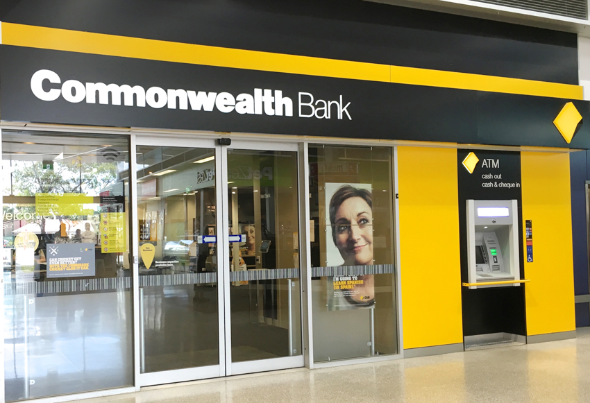 Commonwealth Bank Front